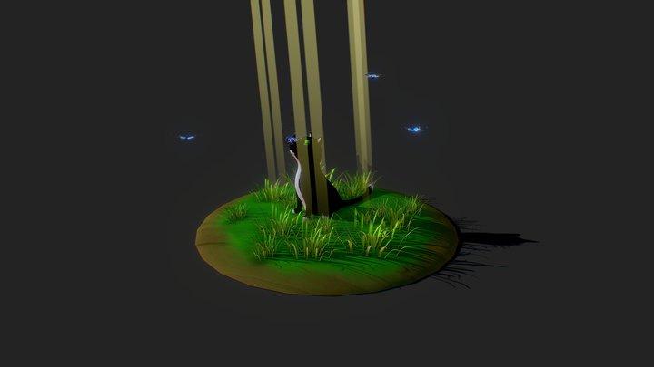 Filou the Cat / Filou le Chat 3D Model