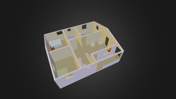 cab_house-1 3D Model