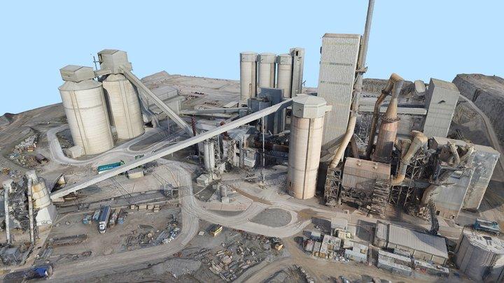 Quarry Industry 3D Model 3D Model