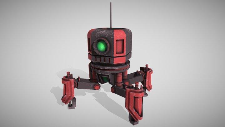 spiderbot 3D Model
