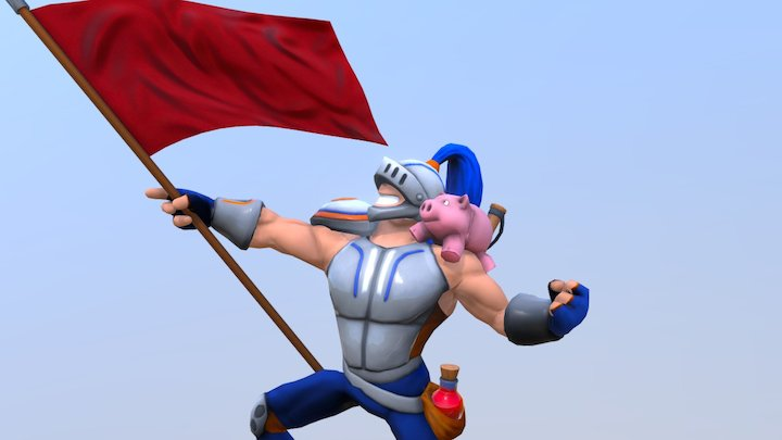 Blunge and Bobo 3D Model