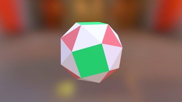 Snub Cube 3D Model