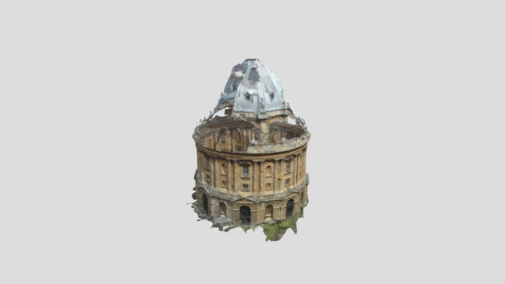 Photogrammetry - Radcliffe Camera, Oxford 3D Model