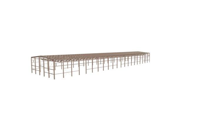 00912 Склад Warehouse 3D Model