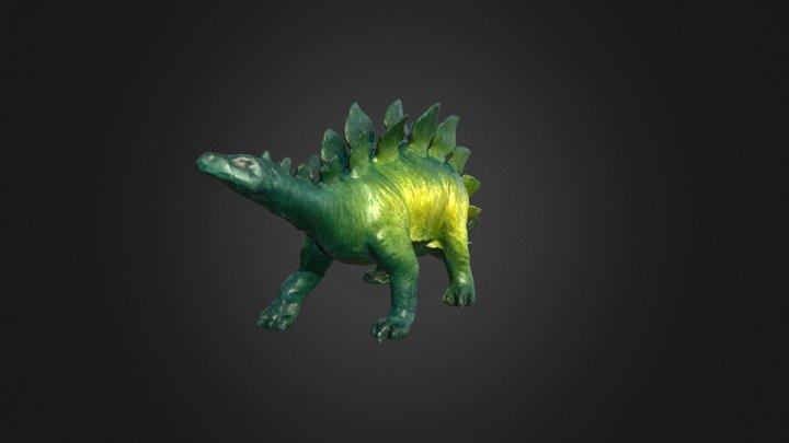 3D Scan Sample - Dinosaur 3D Model