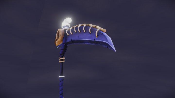Lunar scythe - WoW concept 3D Model