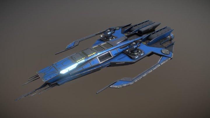 Phalanx Corvette 3D Model