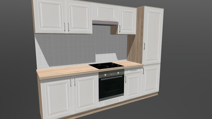 Kitchen cabinet 11 3D Model
