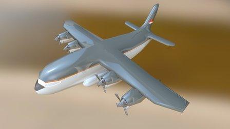 Pesawat Komodo Mod 1 3D Model
