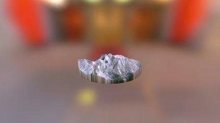 Long's Peak 3D Model