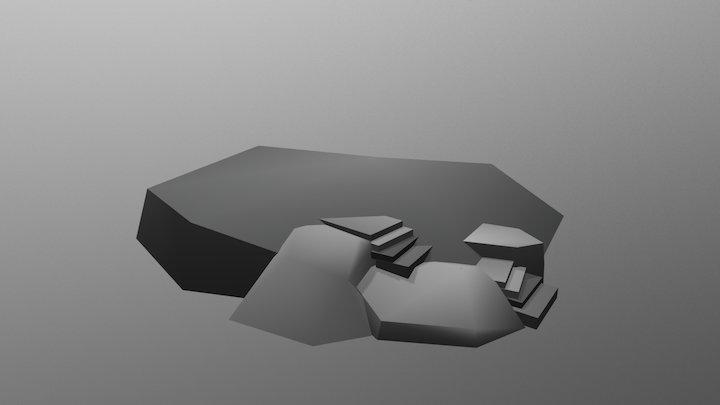 Rocks And Steps 1 3D Model