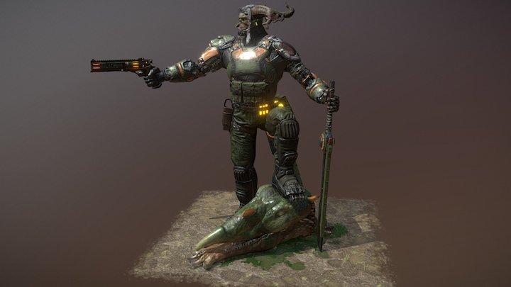 Jagernaut (Beyond Human) 3D Model