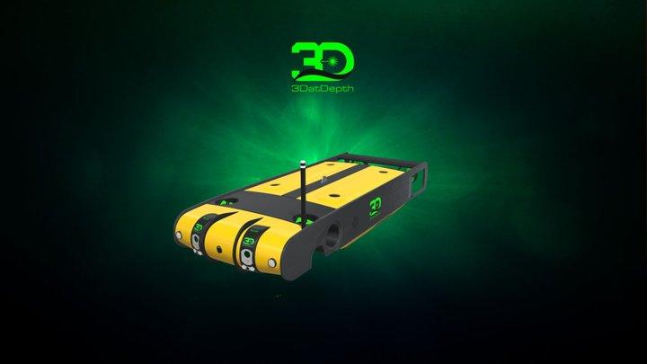 Hybrid ROV / AUV 3D Model