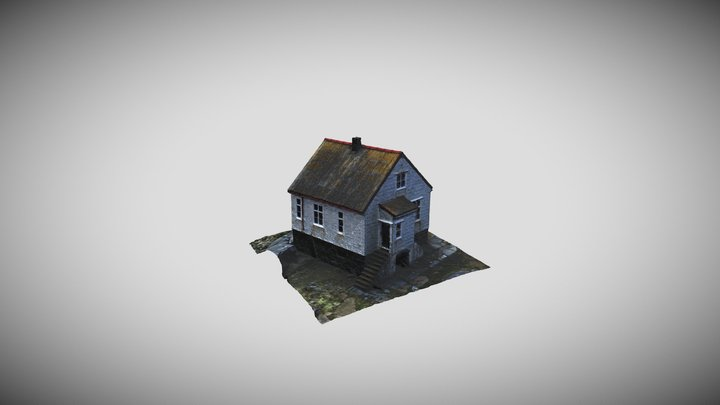 Lighthouse Keeper's Dwelling 3D Model