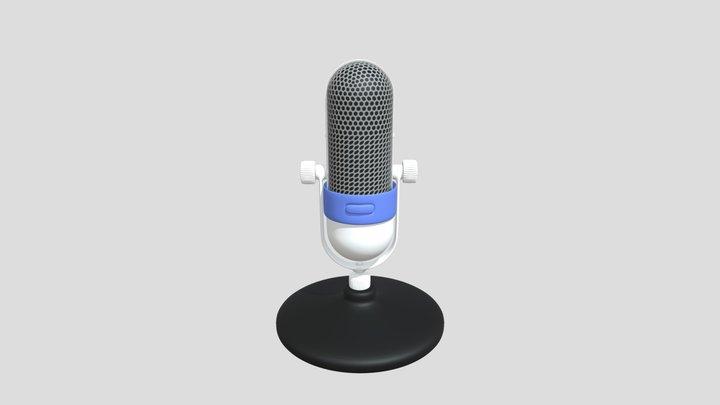 Mic Draft 3D Model
