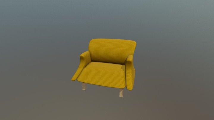 Yellow coach 3D Model