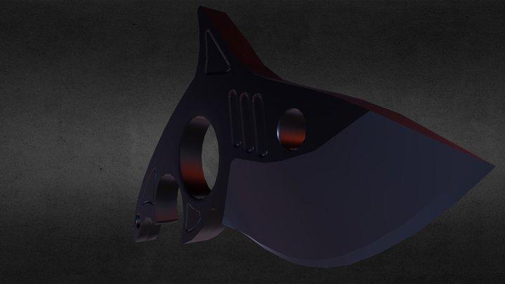Knife Shark 3D Model