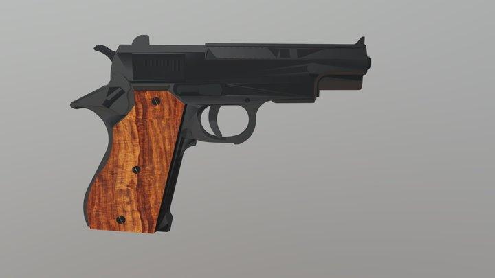 Gun 2 3D Model