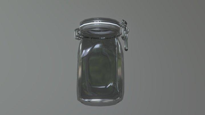Brocal Quadra Jar 3D Model
