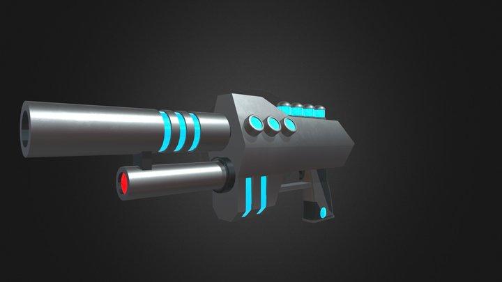 FREEZE GUN 3D Model