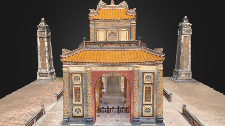 Tomb of Tu Duc 3D Model