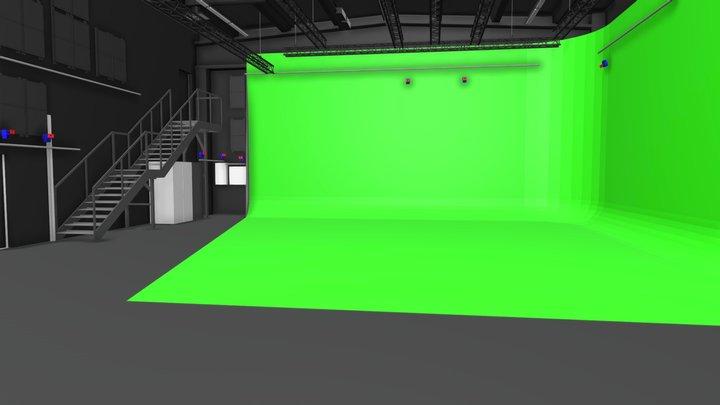 Aalto Studios / Roihupelto Studio 3D Model