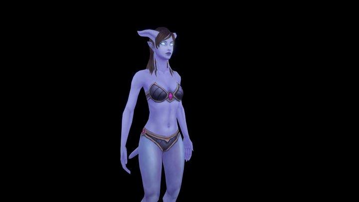 Draenei 3D Model