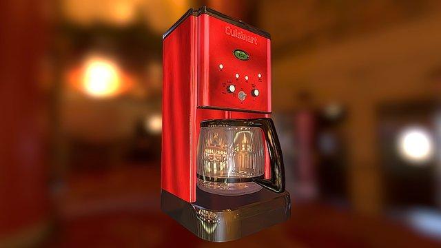 Cuisine Coffee Maker - Downloadable. 3D Model