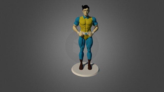 Super Commando Dhruv 3D Model