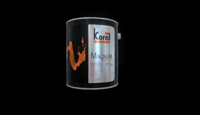 ModelObjMagnum 3D Model