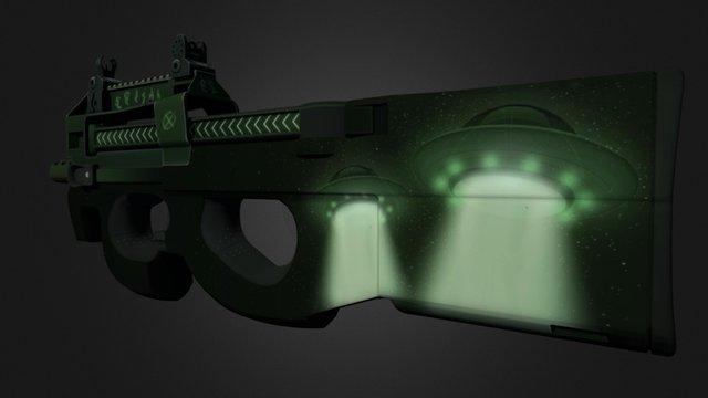 P90 Y-2 3D Model