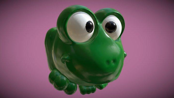 Medium | Frog-Balloon 3D Model