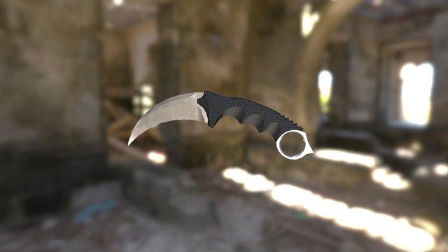 Knife Karambit 3D Model