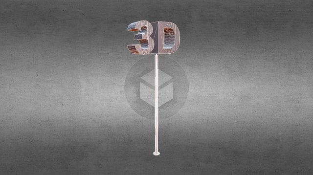 3D Rotatif 3D Model