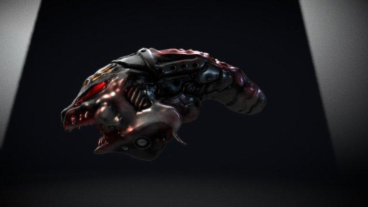 BIOMECHA SKULL 2017 3D Model