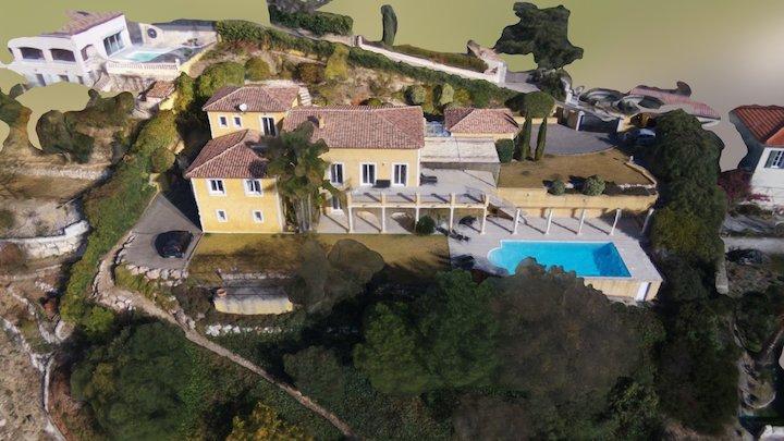 Villa by Parrot Bebop-Pro 3D modeling 3D Model