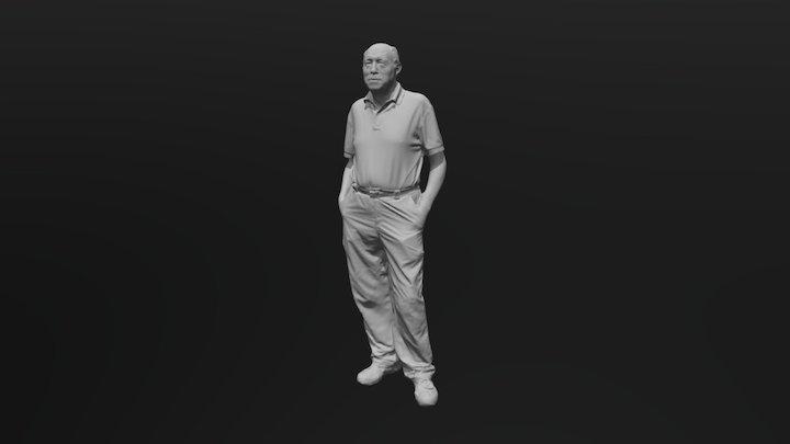 Jose Javier 3D Model