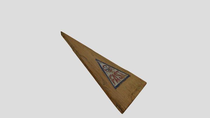 Pointe d'hiloire de kayak FAST 3D Model