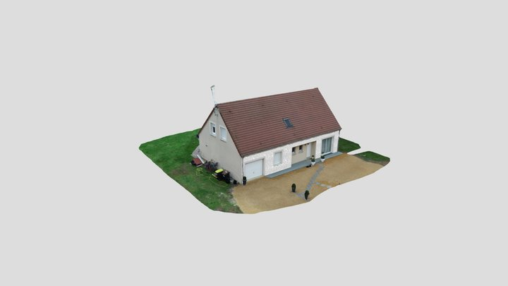 Modélisation façade par PESCAGLINI 3D Model