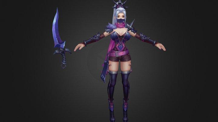 dark assassin 3D Model