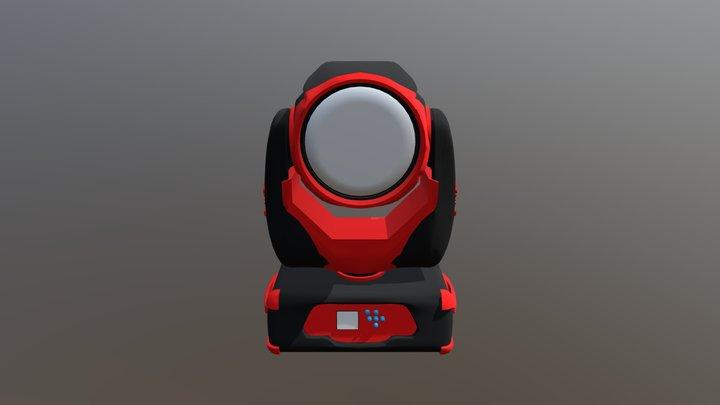 moving head light beam 7r 3D Model