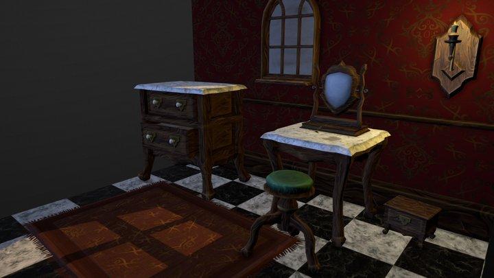 Victorian Room 3D Model