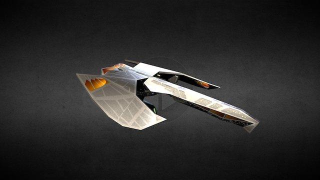 Imperium Class Heavy Battlecruiser 3D Model