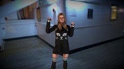 Kitty Dress 3D Model