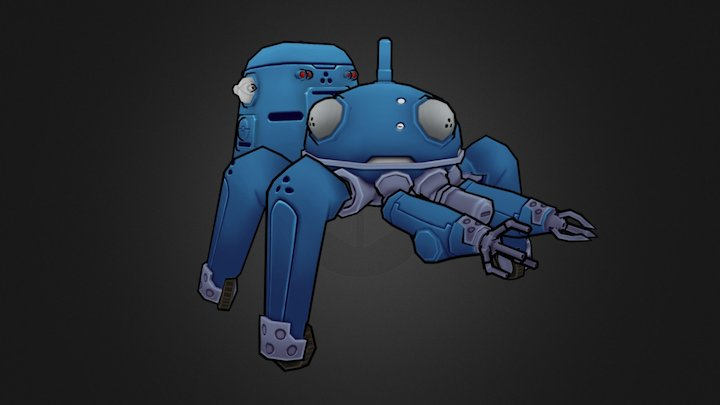 Tachikoma - Ghost in the Shell (Low-poly) 3D Model