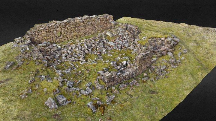 Rosedale High Baring Workshop - south end 3D Model