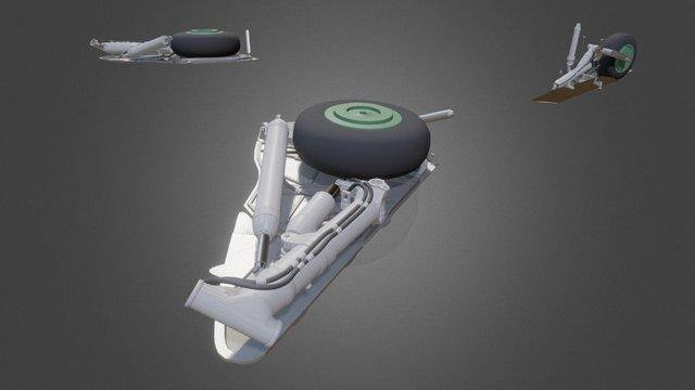 Landing Gears exp7 3D Model