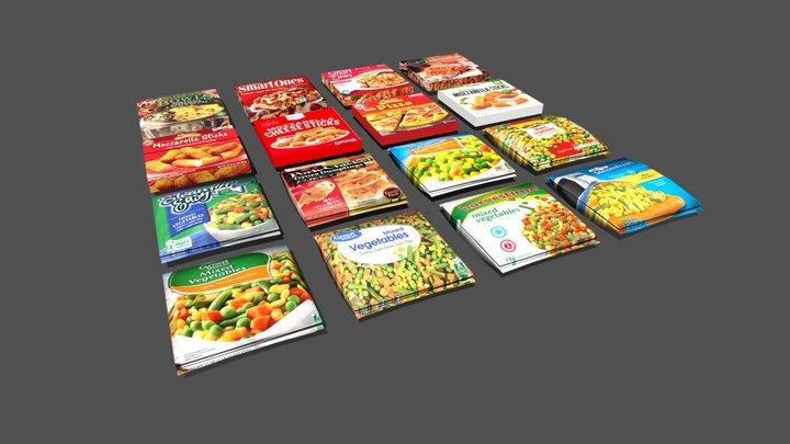 Frozen Foods- Sketchfab 3D Model