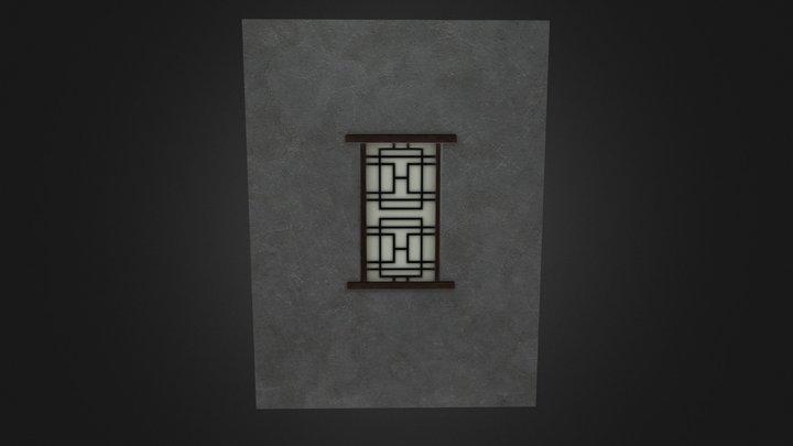 Wall&Window 3D Model