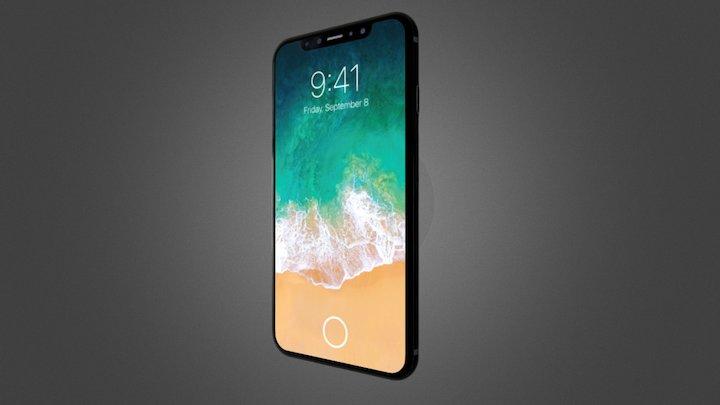 I Phone 8 Final 3D Model